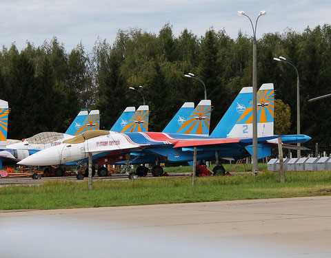 "SU 35 "" 2 "" Russian Air Force -1"