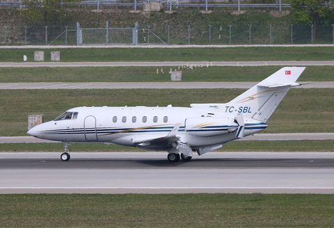 "Hawker 850XP "" TC-SBL ""  Tarkim Aviation -1"
