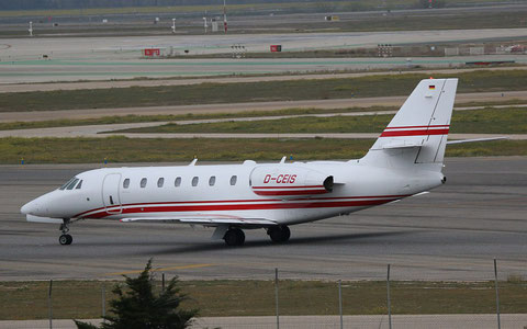 "C 680  Citation Sovereign "" D-CEIS ""  E-Aviation -1"