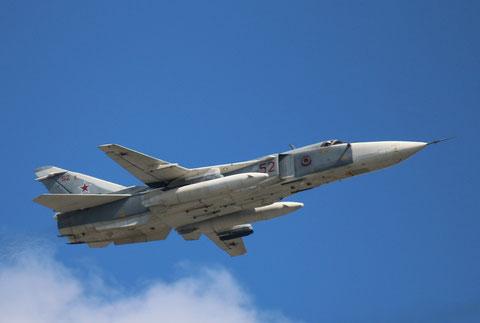 "SU 24MR "" 52 ""  RF-92250  Russian Air Force -1"