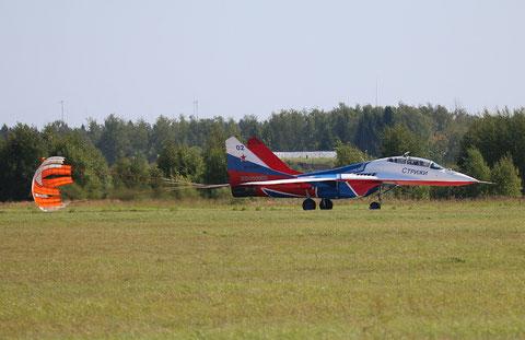 """MiG 29UB """" 02 """"  RF-91946  Воздушно-космические силы ( ВКС ) Россия -5"""
