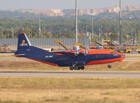 """AN 12BK  """" UR-CNN """"  CAVOK Airlines -5"""