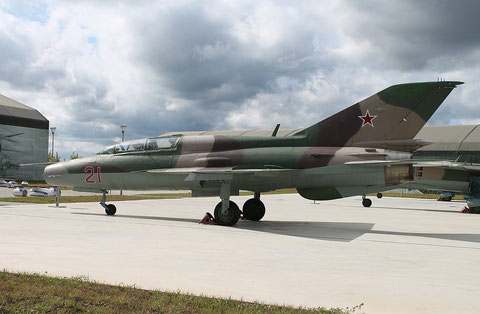 "MiG 21UM  "" 21 ""  Russian Air Force -1"