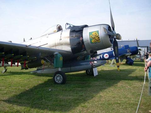Skyraider AD-4N F-AZHK-6