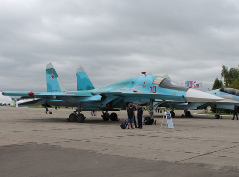 "SU 34 "" 10 ""  RF-95841   Russian Air Force -1"