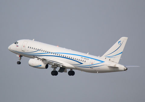 "Superjet 100-95LR "" RA-89029 "" Gazpromavia -3"