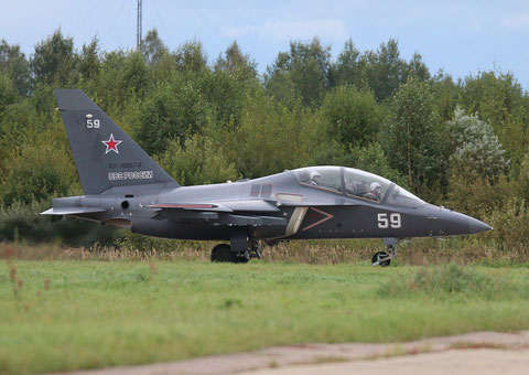 "JAK 130 "" 59 "" RF-44574  Russian Air Force -1"
