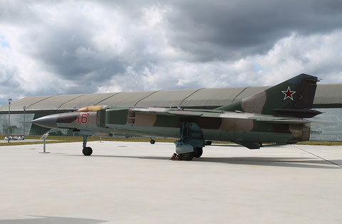 "MiG 23MLD "" 16 ""  Russian Air Force -1"