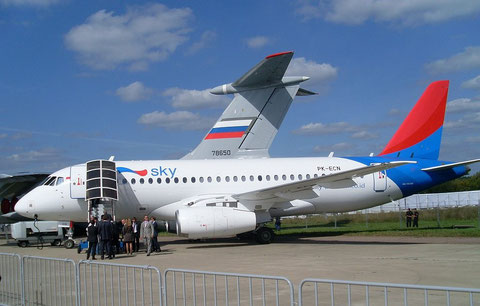 Superjet100 PK-ECN-1
