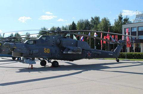 """Mi 28H """" 50 """" RF-91088  Russian Air Force -1"""