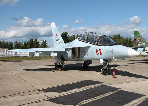 "JAK 130 "" 02 "" RF-44450  Russian Air Force -1"