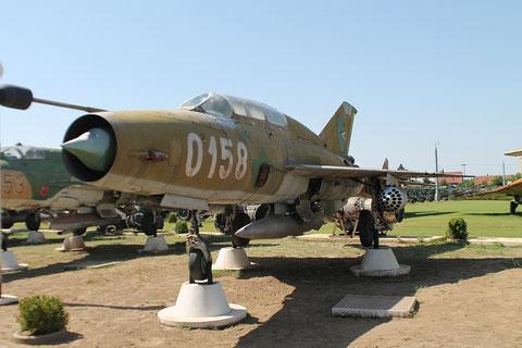 "MiG 21UM  "" 0158 ""  Hungarian Air Force -3"