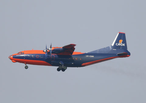 "AN 12BK  "" UR-CNN ""  CAVOK Airlines -1"