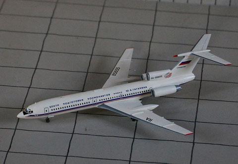 """TU 154M """" RA-85655 """"  ROSKOSMOS   Zvesda 1/144-4"""
