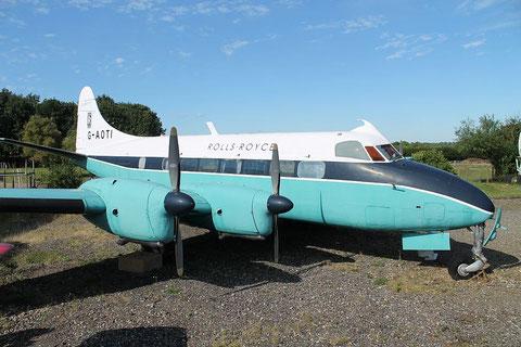 De Havilland 114 Heron 2D G-AOTI-2