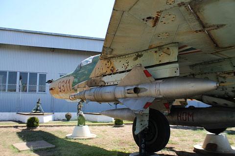 "MiG 21MF  "" 9311 ""  Hungarian Air Force -2"