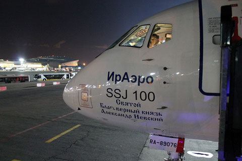 "Superjet 100-95B "" RA-89076 ""  IRAERO -1"