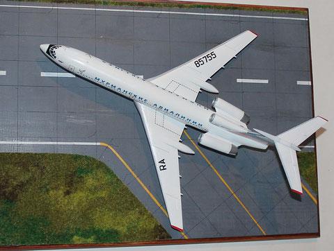 "TU 154M "" RA-85755 ""  Murmansk Airlines -4"