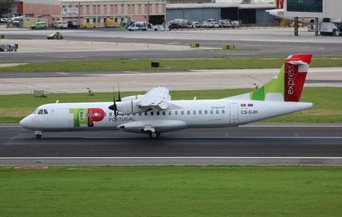 """ATR 72-212A (600) """" CS-DJH """"  TAP Express -2"""
