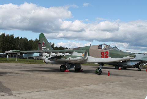 "SU 25SM "" 92 "" RF-95482 Russian Air Force -2"