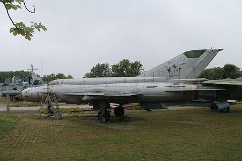 "MiG 21bis  "" 8705 ""  Polish Air Force -2"