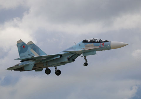 "SU 30SM "" 08 ""  RF-95823 Russian Air Force -4"