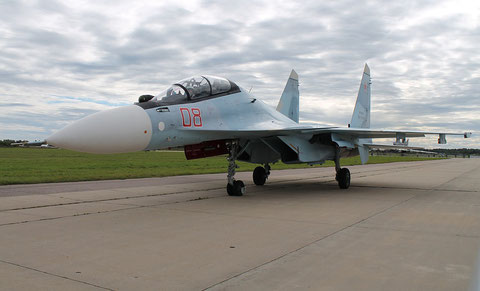 "SU 30SM "" 08 ""  RF-95823 Russian Air Force -3"