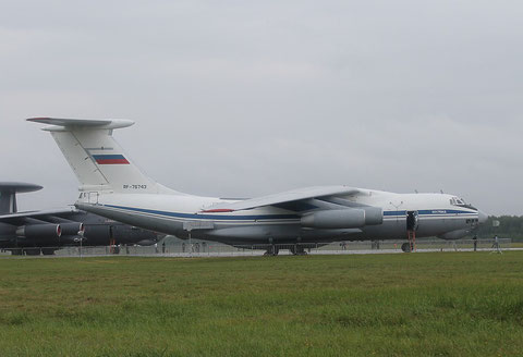 "IL 76MD "" RA-76743 "" Russian Air Force -1"