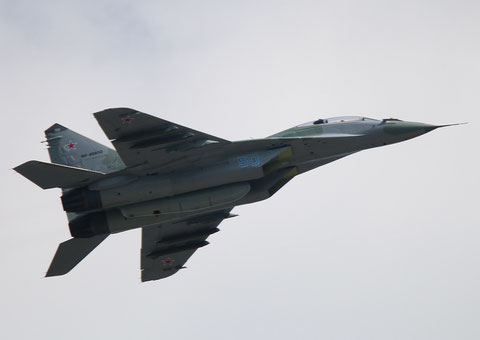 "MiG 29UBM  "" 50 ""  RF-90850  Russian Air Force -1"
