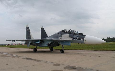 """SU 30SM """" 48 """"   Russian Navy -1"""