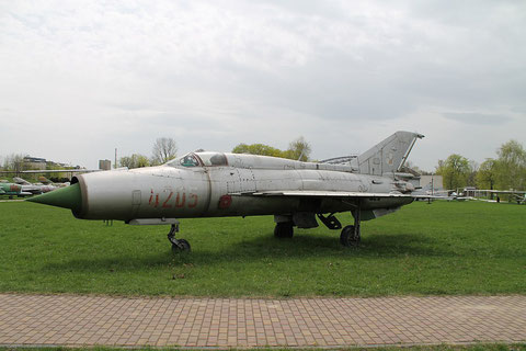 "MiG 21PFM  "" 4205 "" Polish Air Force -2"