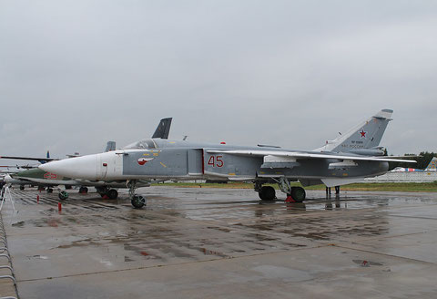 "SU 24M "" 45 ""  RF-93809  Russian Air Force -2"