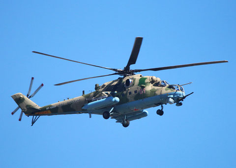 """MI 35 """" 51 """"   RF-13027  Russian Air Force -1"""