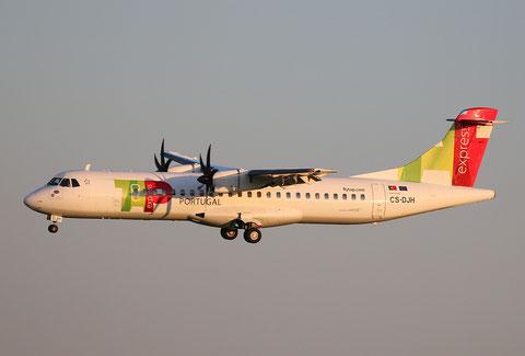 """ATR 72-212A (600) """" CS-DJH """"  TAP Express -1"""