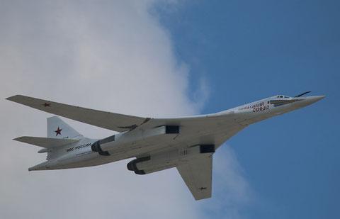 """TU 160  """" 11 """" Vasily Senko  Russian Air Force -1"""