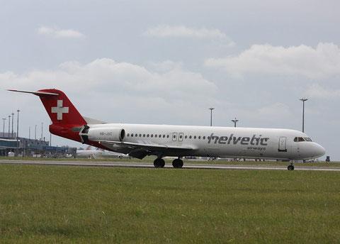 Fokker100 HB-JVC-2