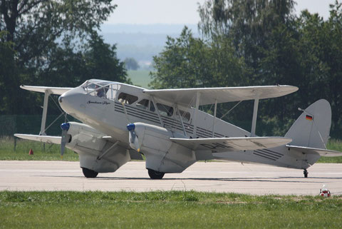 "De Havilland DH-89 Dragon Rapide  "" D-ILIT "" 2"
