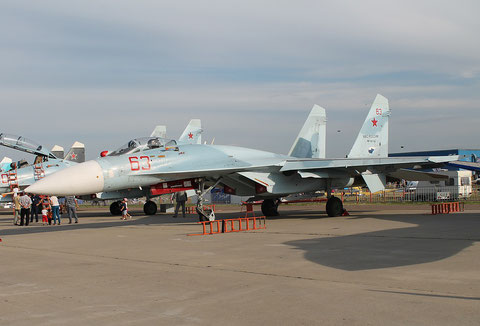 "SU 27SM3 "" 63 ""  RF-90745  Russian Air Force -1"