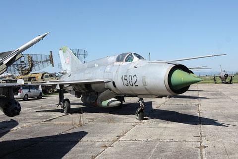 """MiG 21R """" 1502 """" Slovak Air Force -1"""