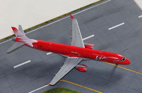 """ERJ-195-200LR  """" G-FBEE """"  VIM Avia  Revell  1/144 -4"""