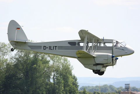 "De Havilland DH-89 Dragon Rapide  "" D-ILIT "" -4"