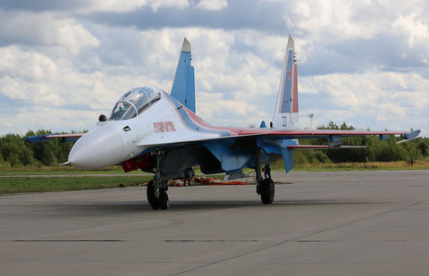 "SU 30SM "" 33 ""  RF-81704 Russian Air Force / Russian Knights -2"
