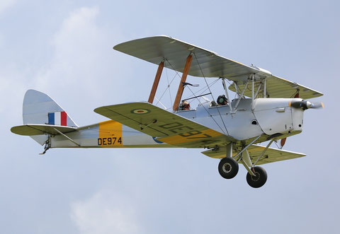 "De Havilland DH-82A Tiger Moth II "" G-ANPE ""-2"