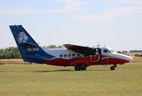 """L 410 OVP  """"  OK-SAS  """"  Aerotaxi SRO -1"""
