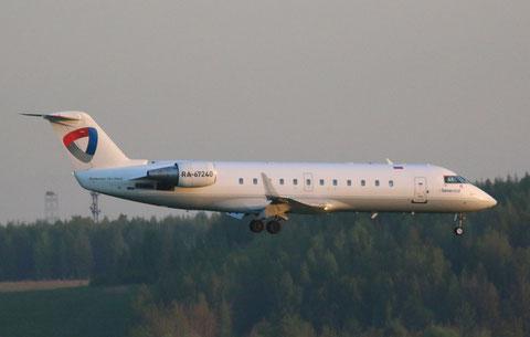 """CRJ-200ER """" RA-67240 """" Severstal -1"""