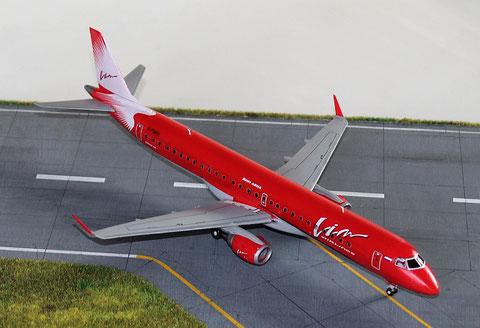 """ERJ-195-200LR  """" G-FBEE """"  VIM Avia  Revell  1/144 -2"""