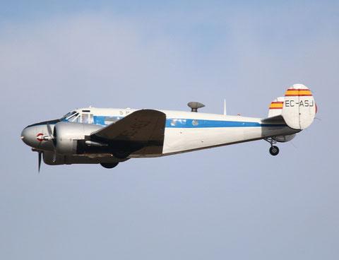 Beech18 EC-ASJ-1
