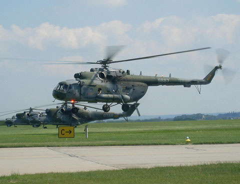 """Mi 171 """" 9887 """" Czech Air Force -1"""