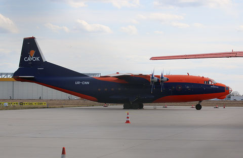 "AN 12BK  "" UR-CNN ""  CAVOK Airlines -4"