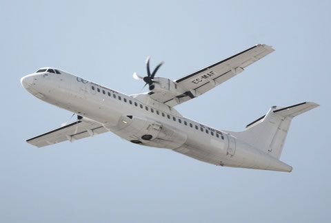"ATR 72-212A "" EC-MAF ""  Air Europa -1"